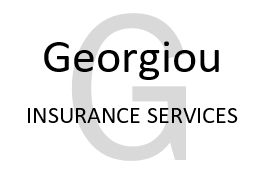 LOGO GEORGIOU INSURANCE WHITE